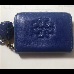 Tory burch zip card holder